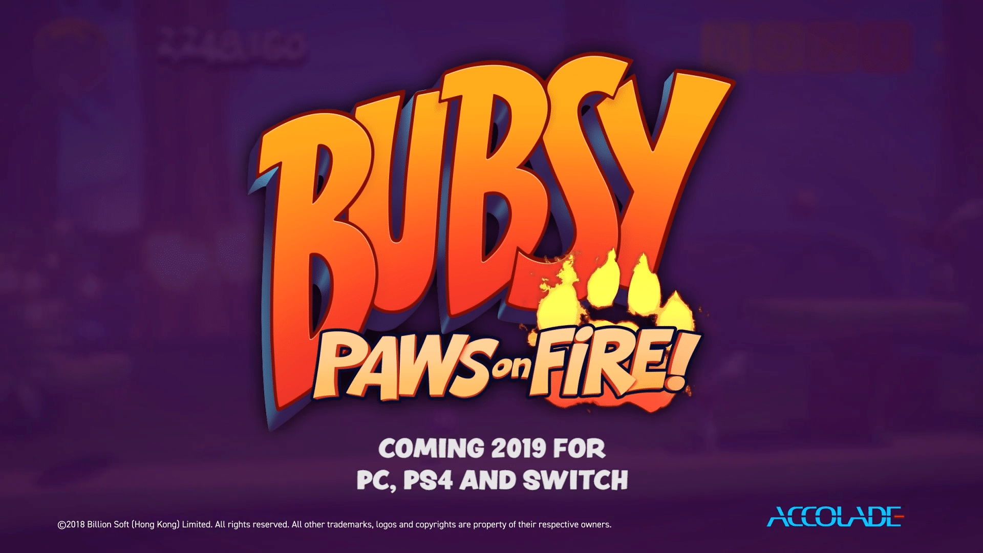 Bubsy: Paws On Fire! – Launch Trailer