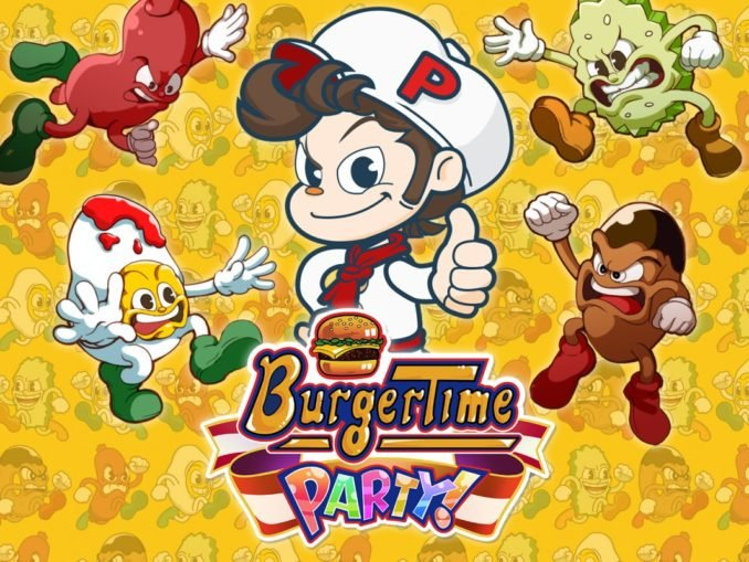Release - BurgerTime Party!