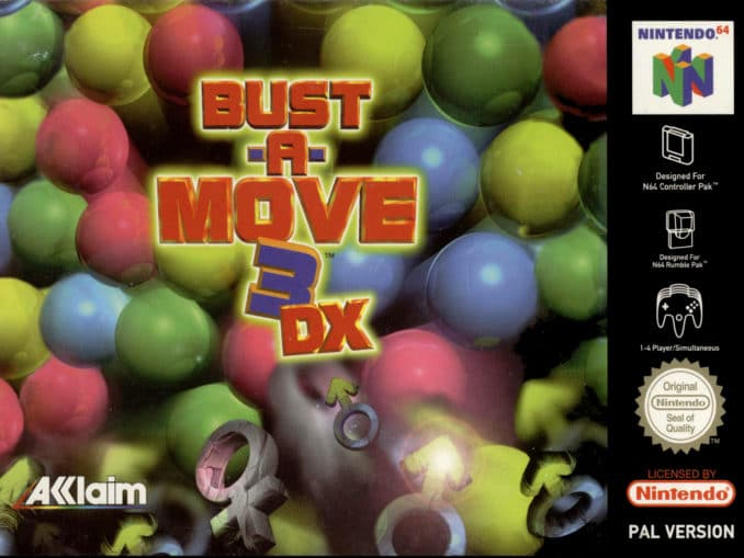 Release - Bust-A-Move 3 DX