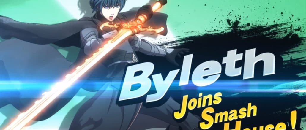 Byleth joins Super Smash Bros Ultimate January 28th