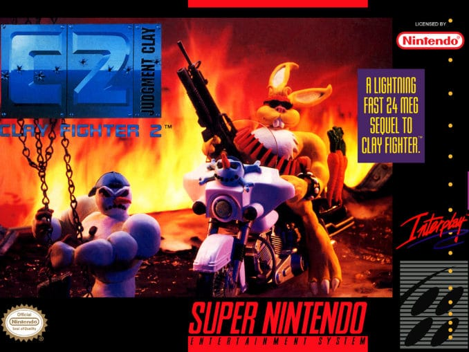 Release - C2 – Clay Fighter 2: Judgment Clay