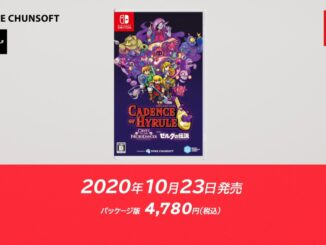 Cadence Of Hyrule – Physical Edition coming October 23