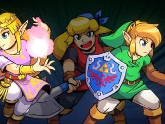 Cadence of Hyrule stars Link and Zelda