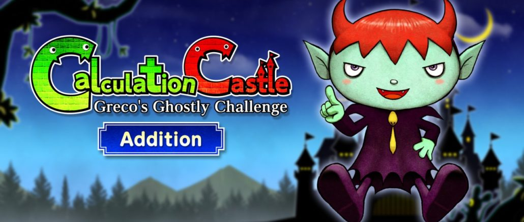 "Calculation Castle : Greco's Ghostly Challenge ""Addition"""