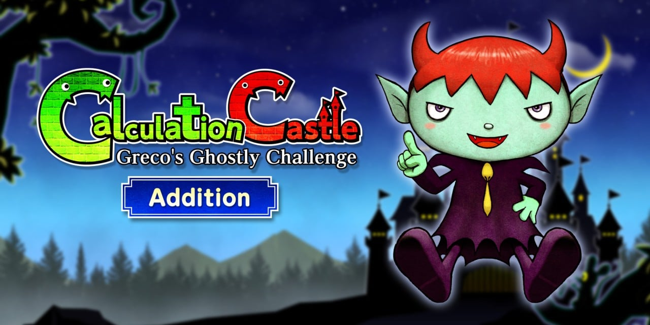 """Calculation Castle : Greco's Ghostly Challenge """"Addition"""""""