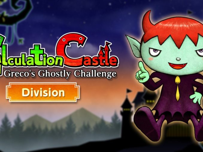 "Release - Calculation Castle : Greco's Ghostly Challenge ""Division"""