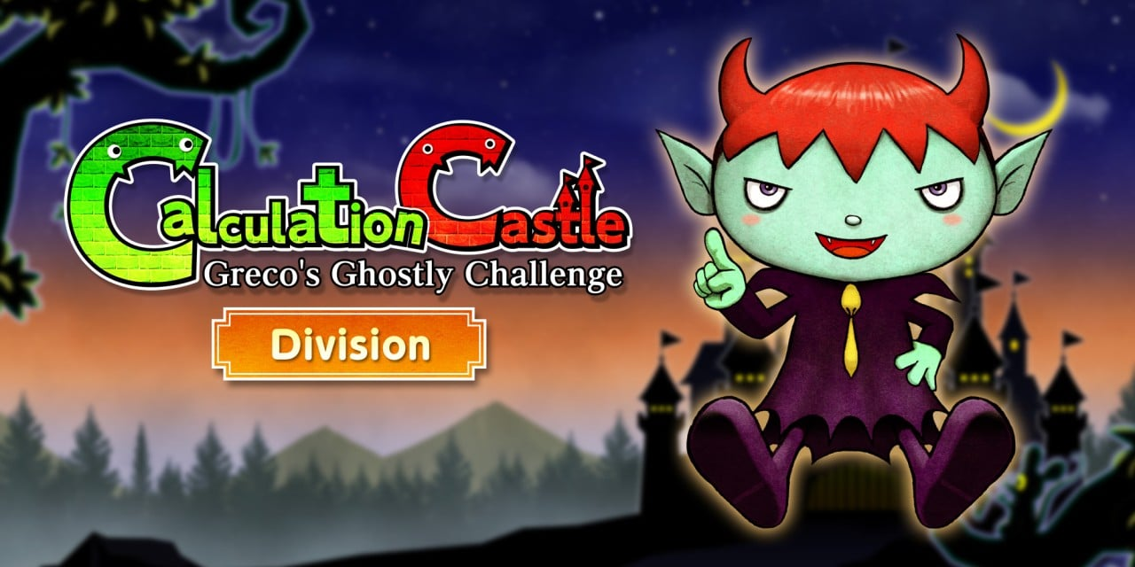 """Calculation Castle : Greco's Ghostly Challenge """"Division"""""""