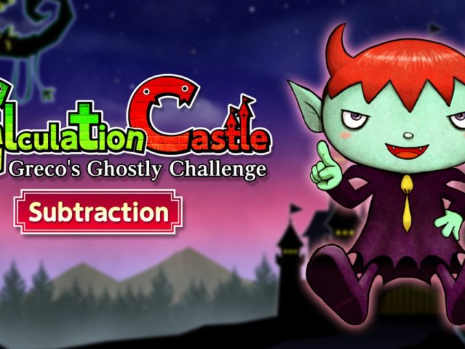 """Release - Calculation Castle: Greco's Ghostly Challenge """"Subtraction"""""""