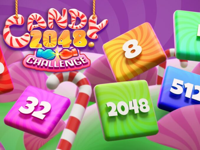 Release - Candy 2048 Challenge