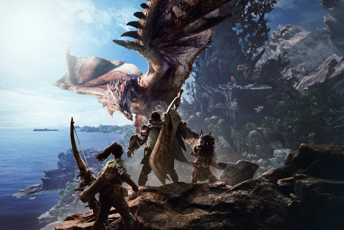 Capcom: it is difficult to put out Monster Hunter World
