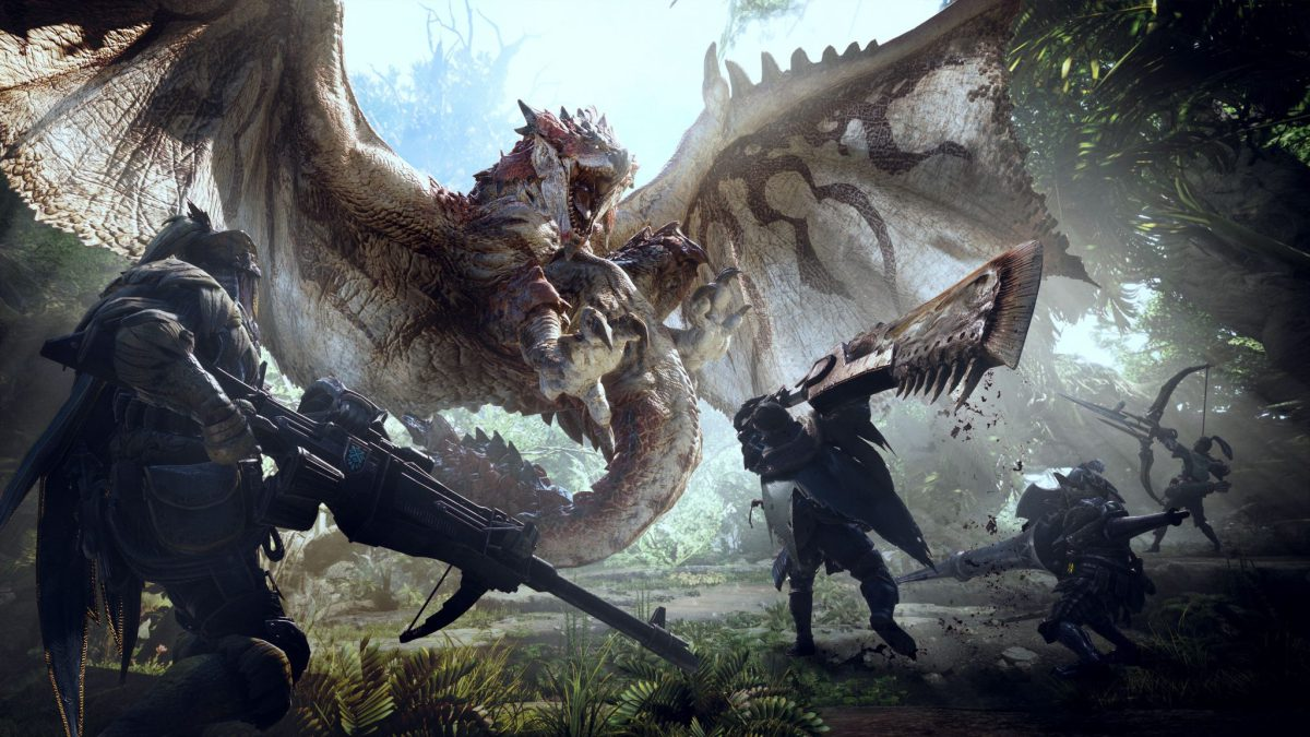 Capcom; Geen Monster Hunter World