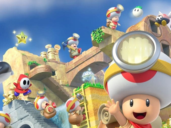 Nieuws - Captain Toad: Treasure Tracker Europese Accolades Trailer