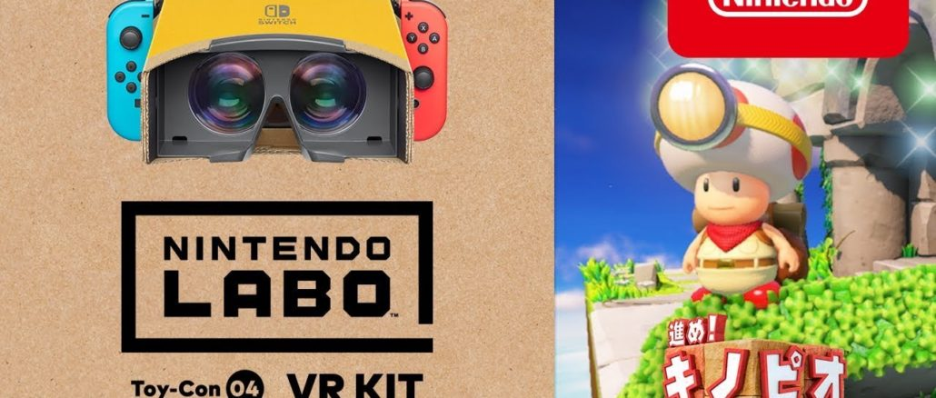 Captain Toad: Treasure Tracker – Labo VR Support