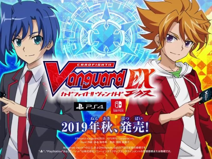 Nieuws - Cardfight!! Vanguard EX Gameplay