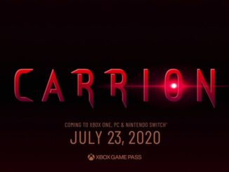 Carrion – Physical Edition – Special Reserve Games Confirmed, Pre-Orders July 23rd