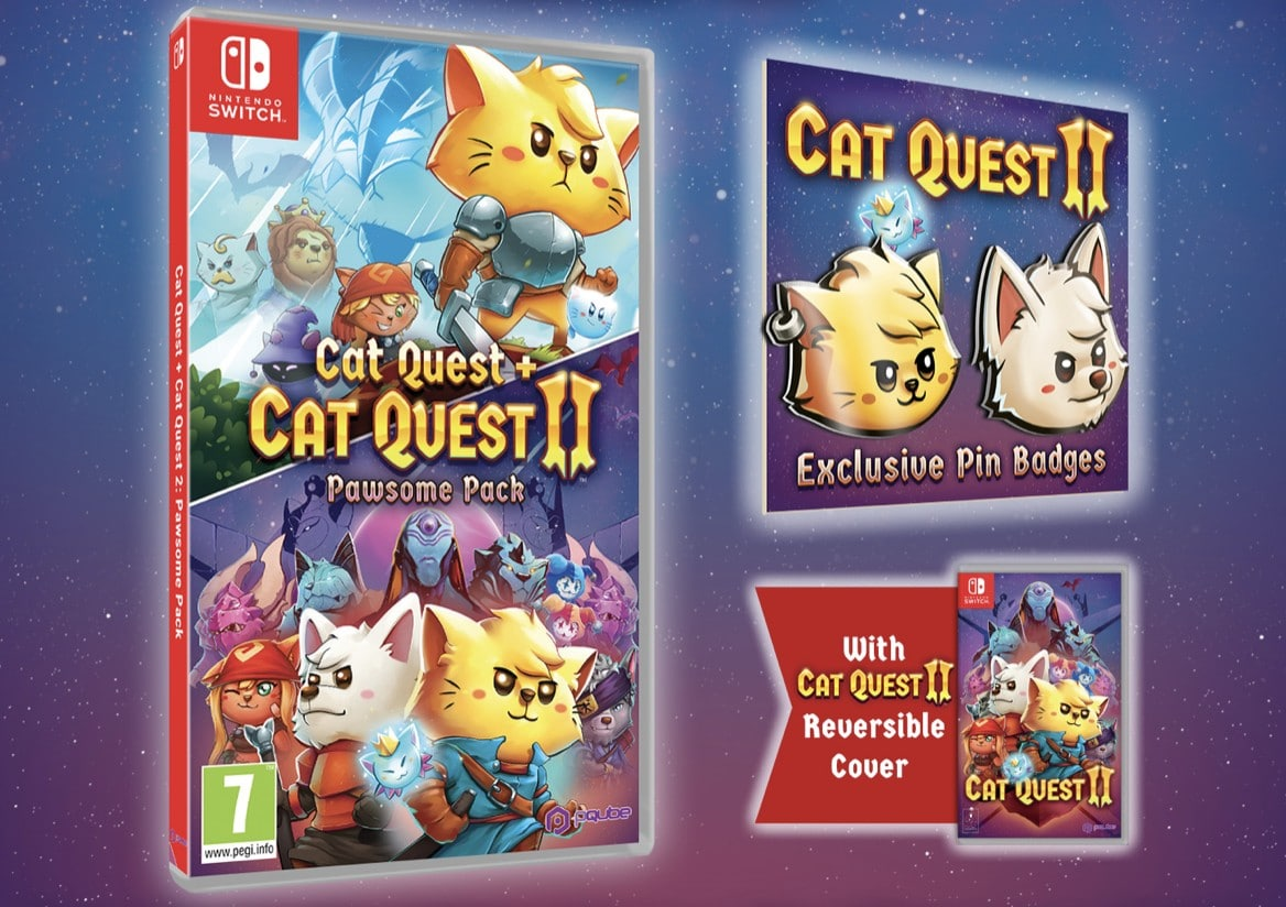 Cat Quest + Cat Quest II Pawsome Pack Launches July 31