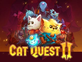 Cat Quest II – Finalised Key Art, Scheduled Q3 2019