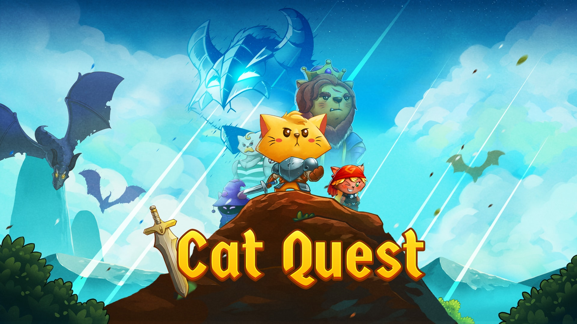 Cat Quest; september fysieke release