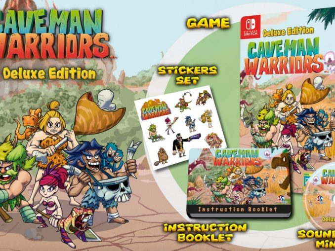 News - Caveman Warriors: Deluxe Edition on March 22nd