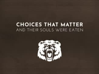 Choices That Matter: And Their Souls Were Eaten komt 6 Januari 2021