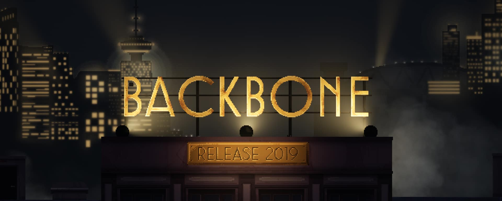 Cinematic pixel adventure Backbone is coming