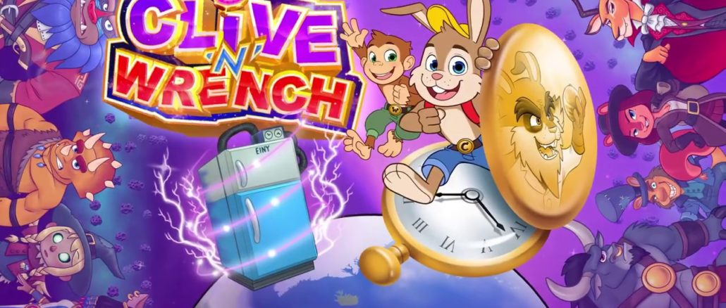 Clive 'N' Wrench – Nieuwe Trailer – Komt in 2021