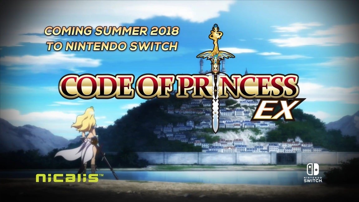 Code Of Princess EX aankondigings trailer