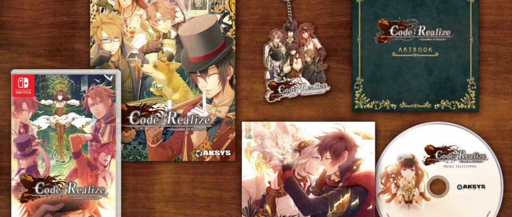 Code: Realize ~Guardian of Rebirth~ Collector's Edition onthuld