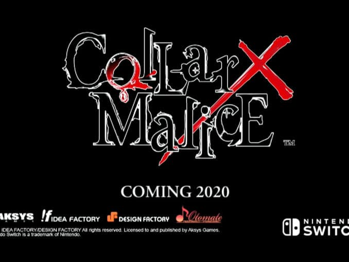 Nieuws - Collar×Malice – Korte Preview Trailer