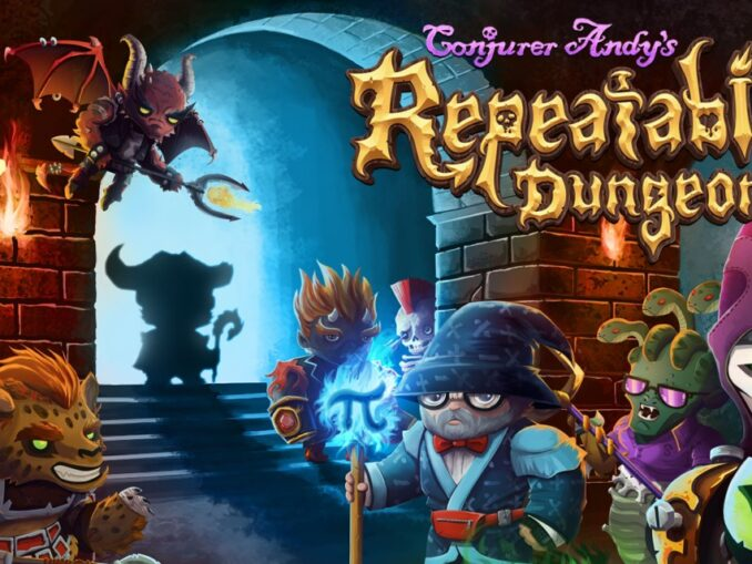 Release - Conjurer Andy's Repeatable Dungeon