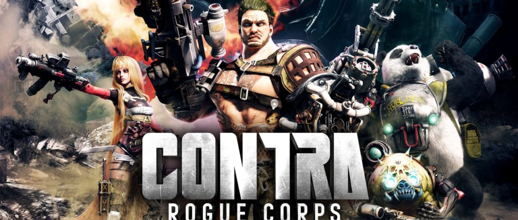 CONTRA ROGUE CORPS