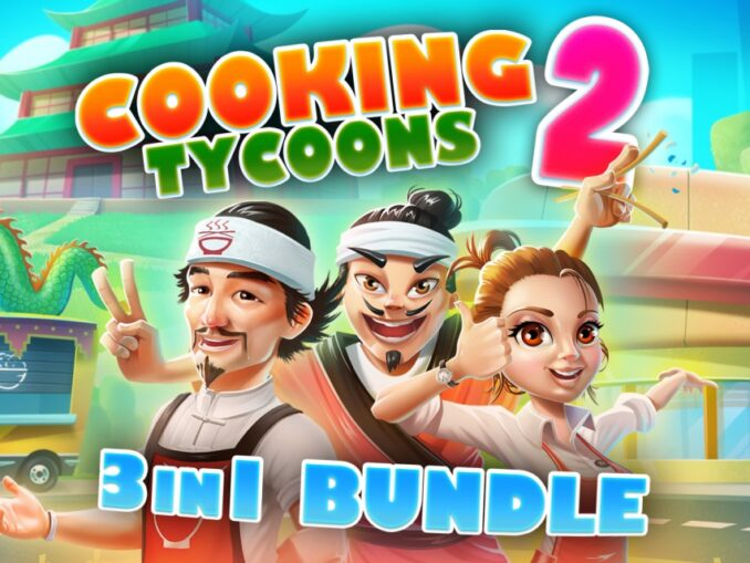 Release - Cooking Tycoons 2: 3 in 1 Bundle