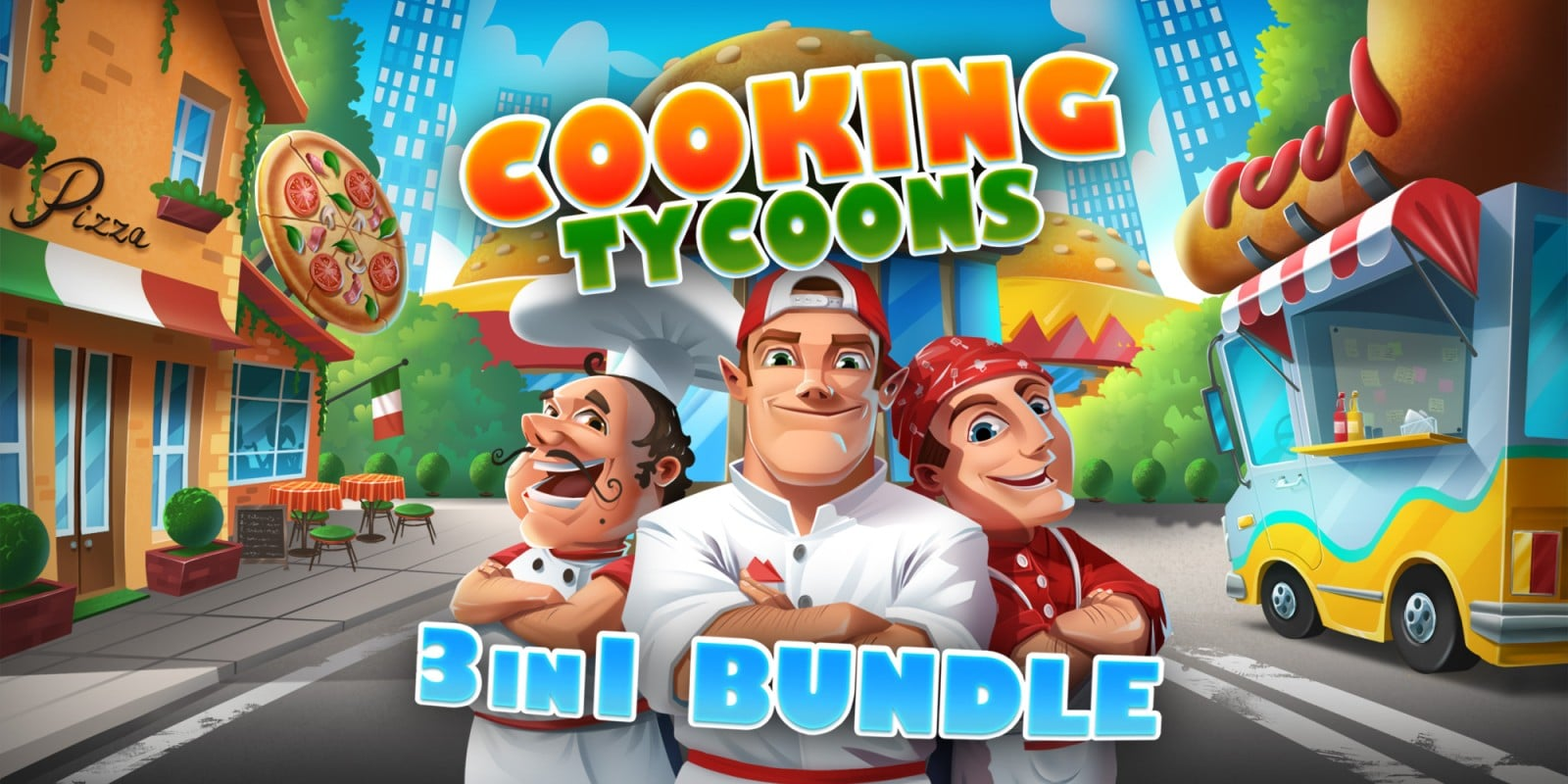 Cooking Tycoons – 3 in 1 Bundle