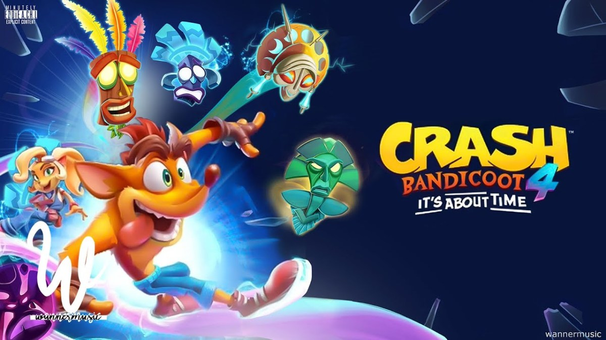 Crash Bandicoot 4: It's About Time is coming 2nd October … but