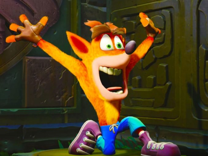 News - Crash Bandicoot N.Sane Trilogy Fastest Selling Switch Game