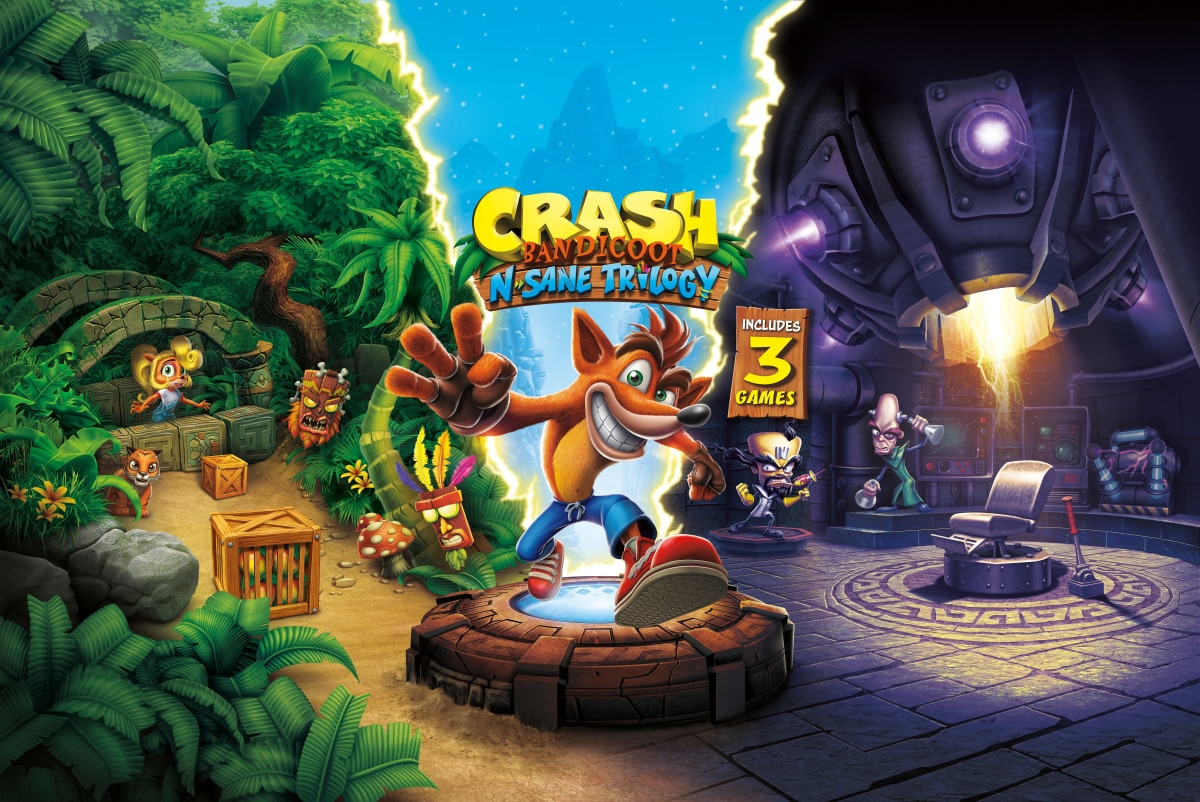 Crash Bandicoot N. Sane Trilogy – Stage DLC
