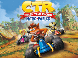 Crash Team Racing Nitro-Fueled 1 uur gestreamed