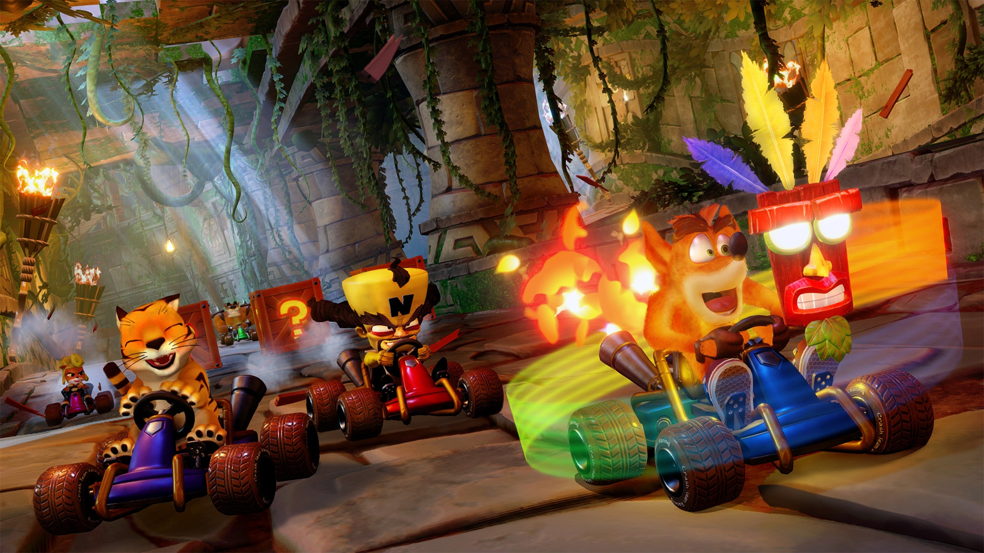 Crash Team Racing Nitro-Fueled eerste look + release datum bevestigd