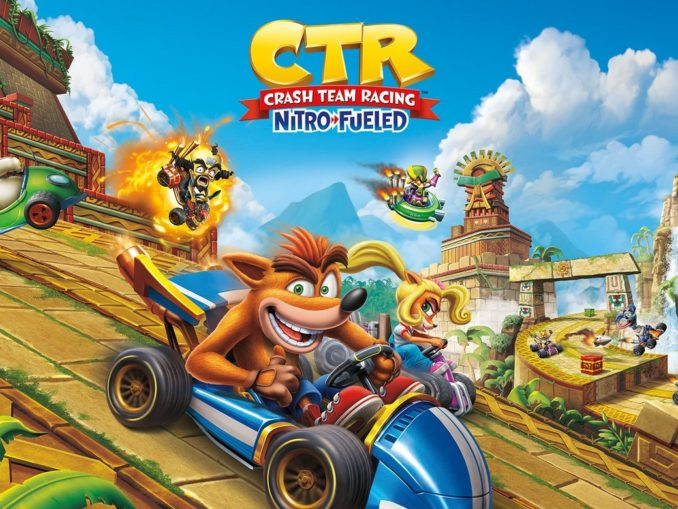 News - Crash Team Racing: Nitro-Fueled might have Tag Team Racing tracks