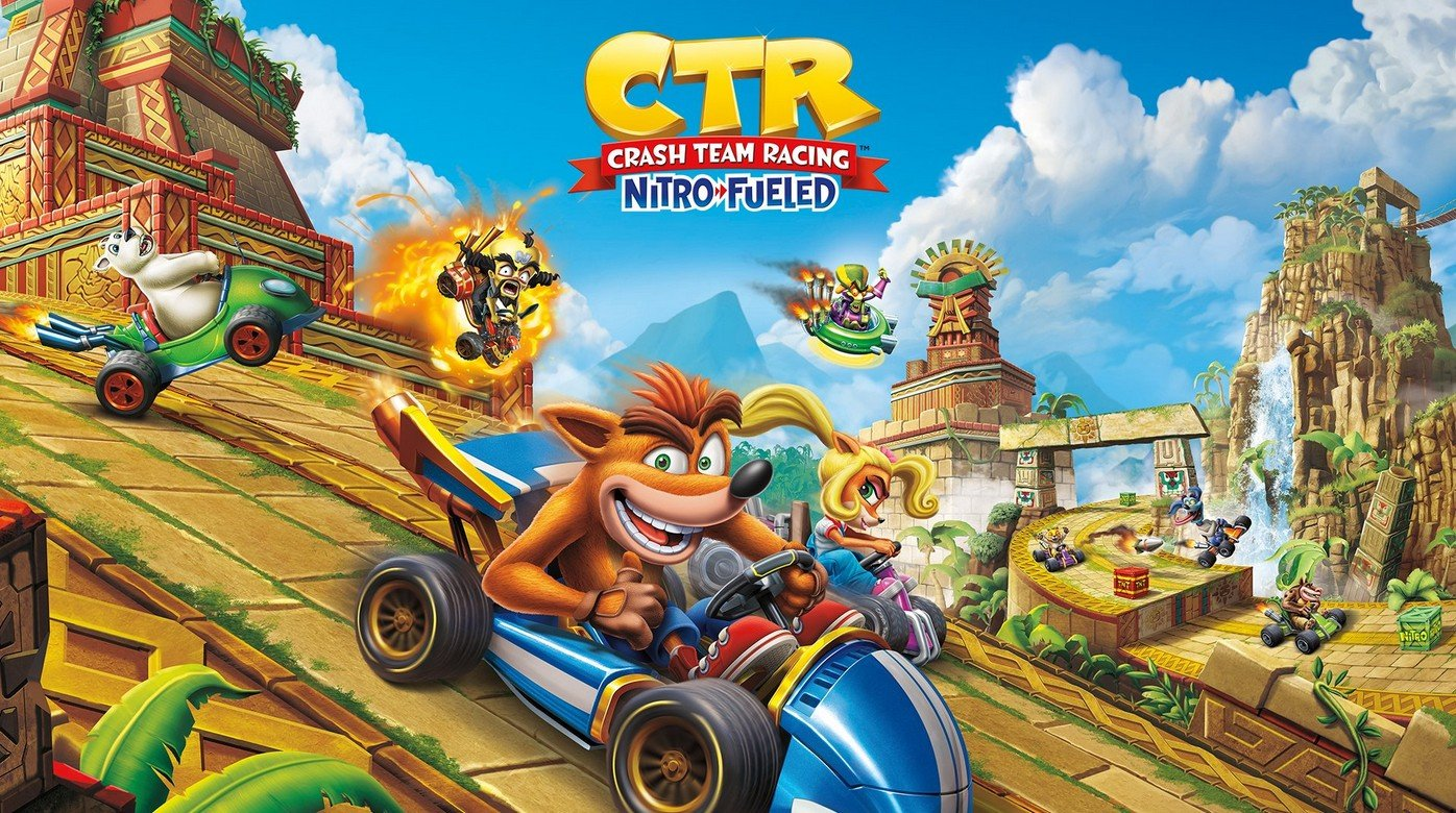 Crash Team Racing: Nitro-Fueled kan Tag Team Racing-tracks bevatten