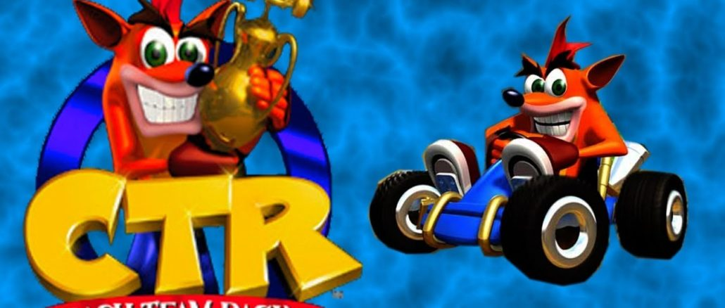 [FEIT] Crash Team Racing Remaster kan gebeuren tijdens Game Awards 2018