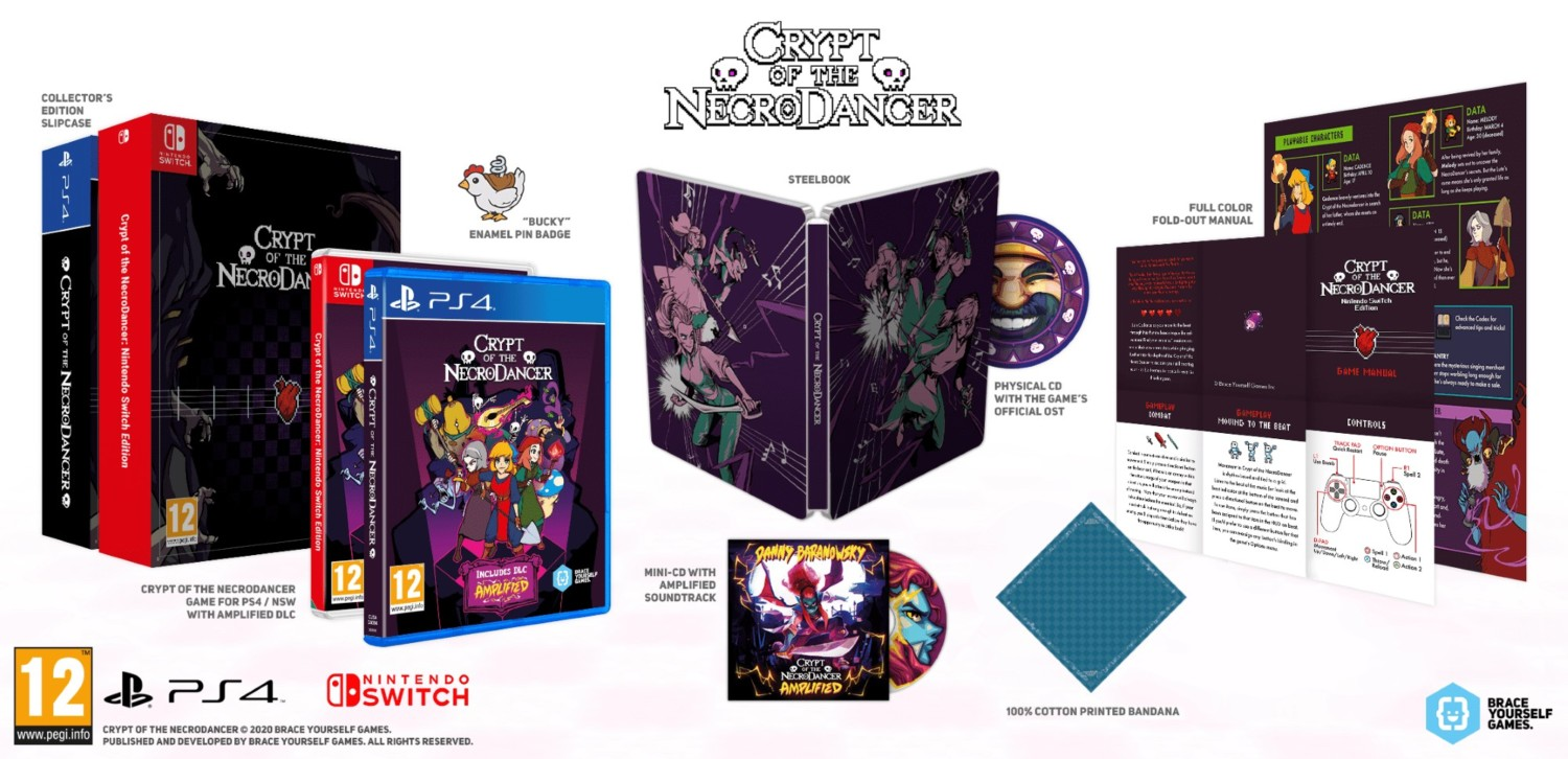 Crypt Of The NecroDancer Physical Edition – Officially Announced for Europe