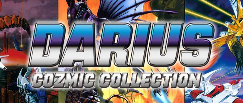 Darius Cozmic Collection niet digitaal in Japan
