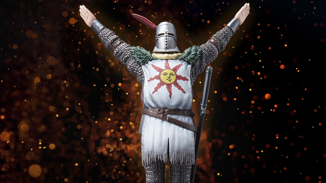 Dark Souls Remastered's Solaire Of Astora amiibo