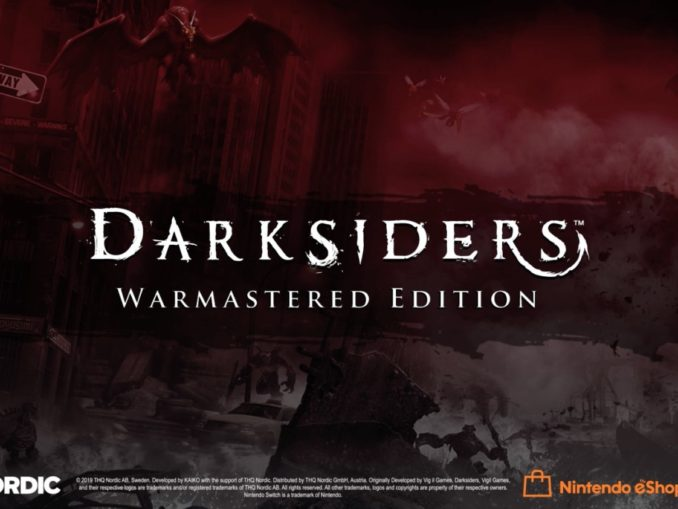 Nieuws - Darksiders: Warmastered Edition details