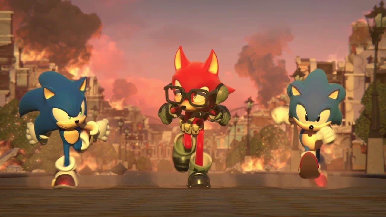 Day One patch Sonic Forces