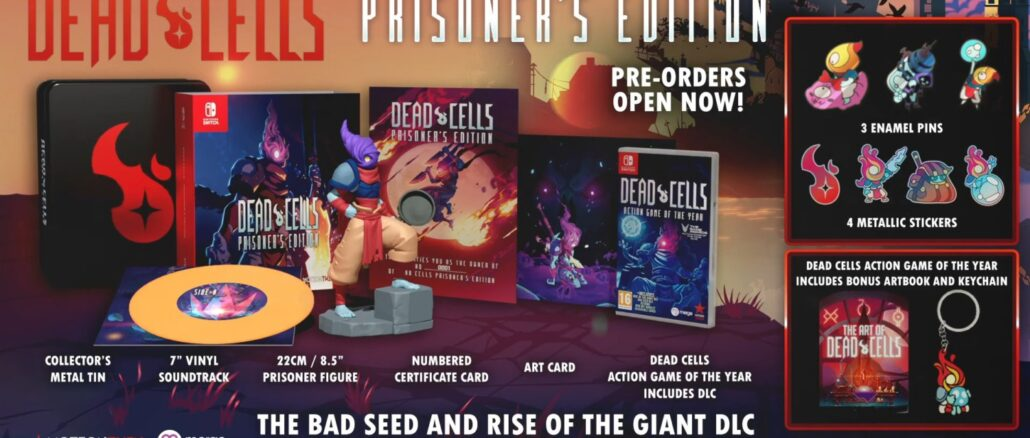 Dead Cells Prisoner's Edition bevat Rise Of The Giant en The Bad Seed DLC, uitgesteld tot Augustus