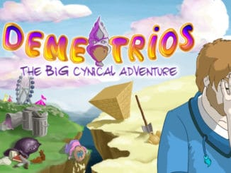 News - Demetrios – The Big Cynical Adventure; 30 minuten aan gameplay