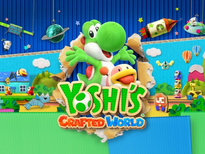 Nieuws - Demo Trailer Yoshi's Crafted World