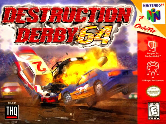 Release - Destruction Derby 64